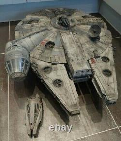 Star Wars Legacy Millennium Falcon Custom Weathered/movie Look 100% Complete