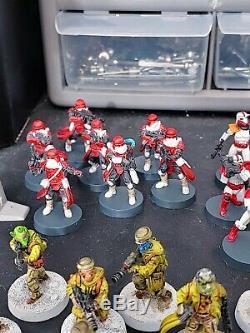 Star Wars Legion Miniatures Game Custom Lot