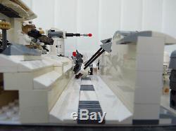 Star Wars Lego Custom Hoth South Entrance Moc 19 Figures With Three Sets