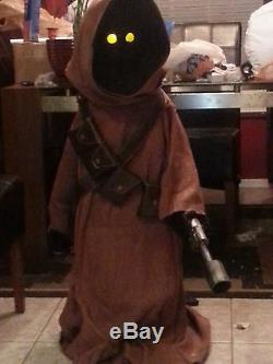 Star Wars Life Size Custom Jawa Prop with Voice Chip