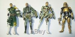 Star Wars Lot Of 8 Custom Realistic Clone Trooper Figures Loose 3.75