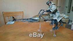 Star Wars Luke Skywalker, Speeder bike 1/6 scale custom figure