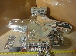 Star Wars Mandalorian Razor Crest, Custom Chrome Mudhorn 1 Ship by Hasnotalent