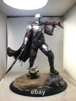 Star Wars Mandalorian Xionart Custom Statue 1/4 Statue 70 Worldwide RARE
