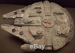 Star Wars Millennium Falcon 28 Long Custom Painted Model Display Piece Han Solo