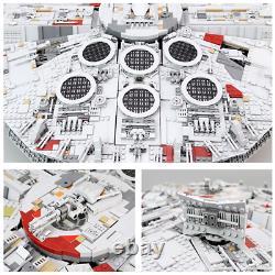 Star Wars Millennium Falcon 75192 Custom Model Unbranded 8445pcs Building Bricks
