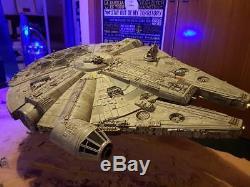 Star Wars Millennium Falcon TIE Diorama Force Awakens Custom made 150cm long