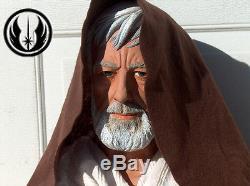 Star Wars OBI WAN KENOBI Life Size 11 Custom Painted Bust