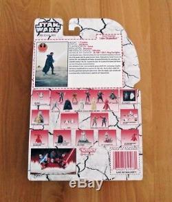 Star Wars POTF2 Last Jedi 6 LUKE SKYWALKER FORCE PROJECTION Custom Black Series