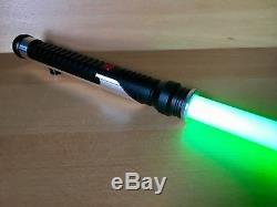Star Wars Qui-Gon Jinn Custom Lightsaber