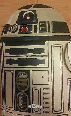 Star Wars R2-D2 Custom Skateboard Artwork