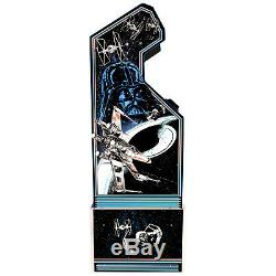 Star Wars Retro Arcade1UP Home Cabinet Machine with Custom Riser Light-Up Marquee