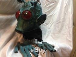 Star Wars Rodian species Mask/Prop Custom Built Movie Quality