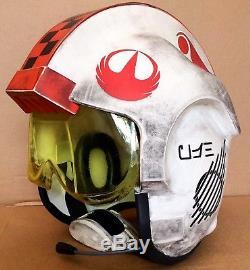 Star Wars Rogue One X-wing 11 Custom Rebel Flight Helmet Costume / Prop