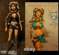 Star Wars Sexy Female Twi'Lek Bounty Hunter Assassin OOAK Custom 1/6 Scale