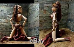 Star Wars Slave Princess Leia 1/6 Custom OOAK Figure Volks Momoko Hasbro