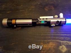 Star Wars Starkiller TFU1 Custom lightsaber fully installed! Prizm soundboard