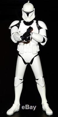 Star Wars Statue Black Gentle Giant Artfx+ Series Custom Clone Wars Trooper Aotc