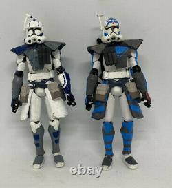 Star Wars Tcw ARC troopers Echo & Fives Custom Action Figures