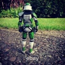 Star Wars The Black Series 6 Inch 442nd Clone Trooper Commander Custom Figure