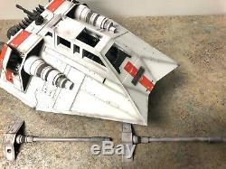 Star Wars The Black Series 6 Inch Custom Snowspeeder Empire Strikes Back