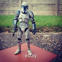 Star Wars The Black Series 6 Inch Imperial Clone Commando Commander Voca Custom