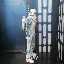 Star Wars The Black Series Clone Snow Trooper Captain Rex Custom