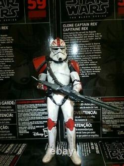 Star Wars The Black Series Custom 6 Inch Captain Ford Vol. 2 Phase 2 Arc-77