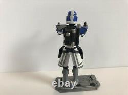 Star Wars The Clone Wars 3.75 Animated Arc Trooper Jesse Custom Figure