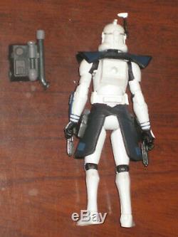 Star Wars The Clone Wars Arc Trooper Havoc! CUSTOM RARE! Back Pack +Pistols