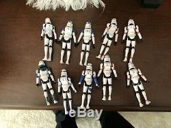 Star Wars The Clone Wars Custom Phase 2 Lot Waxer Boil Comet Kix Dogma Jesse 501