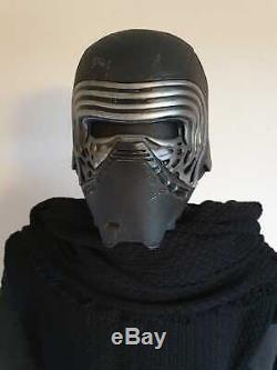 Star Wars The Force Awakens Custom Kylo Ren Prop Costume Cosplay 11 on Stand