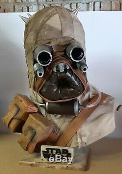 Star Wars Tusken Raider Lifesize bust custom scale 11 prop