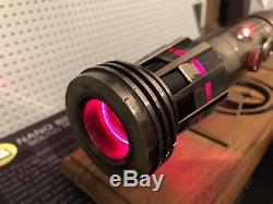 Star Wars Ultrasaber Darth Maul Battle Damaged Lightsaber Custom NBV4