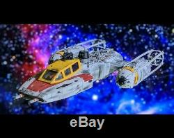 Star Wars Y-wing fighter Red Jammer Custom