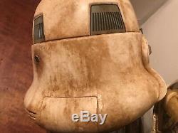 Star Wars black series stormtrooper helmet custom paint mandalorian electronic