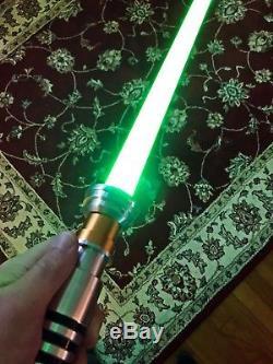 Star Wars custom lightsaber! The Last Jedi