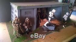Star Wars custom made Endor base for 3.75 figure diorama