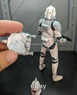 Star wars Black Series Custom 6in clone Wolffe pack