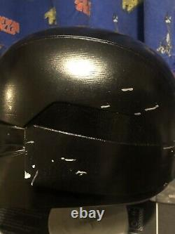 Star wars Custom Dark Trooper Helmet Mandalorian 3D Printed Not Black Series