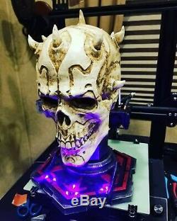 Star wars Darth maul skull custom display