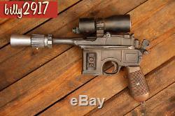 Star wars HAN SOLO DL-44 ROTJ heavy blaster resin model custom paint