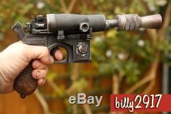 Star wars Han Solo Dl-44 Blaster Empire Strikes Back Custom Paint Resin