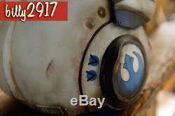 Star wars black series poe Dameron BLUE x-wing pilot helmet custom Painted