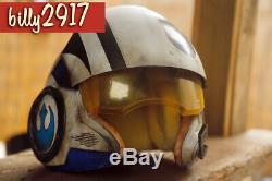 Star Wars Black Series Poe Dameron Blue X-wing Pilot Helmet