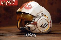 Star wars black series x-wing pilot helmet custom Painted MADE TO ORDER