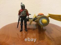 Star wars custom the mandalorian Marshal Cobb Vanth& podbike action figure 3.75
