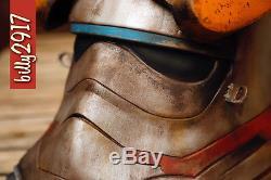 Star wars first order tie fighter jakku scavenger mercenary helmet custom Paint