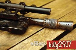 Star wars han solo dl-44 blaster HERO version custom builds pro painting
