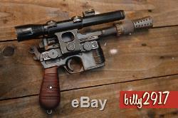 Star wars han solo dl-44 blasters custom builds pro painting